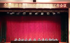 南阳市召开促进非公有制经济健康发展工作会议